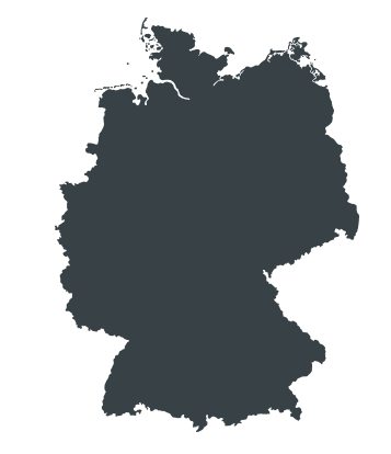 Locations H&P Germany